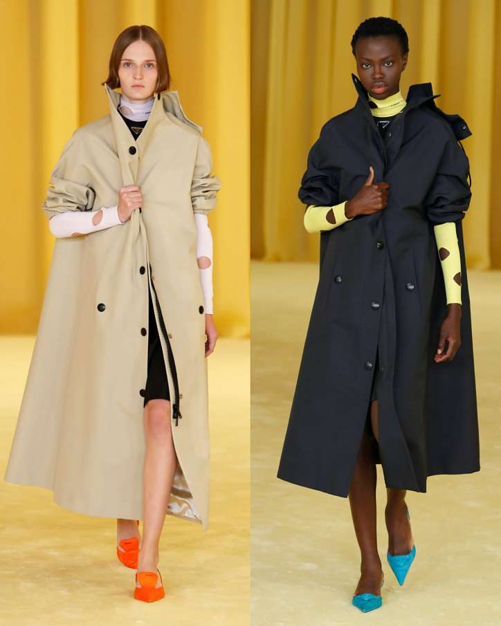 Fashionable raincoats and trench coats 2021: photos of trending models photo №14