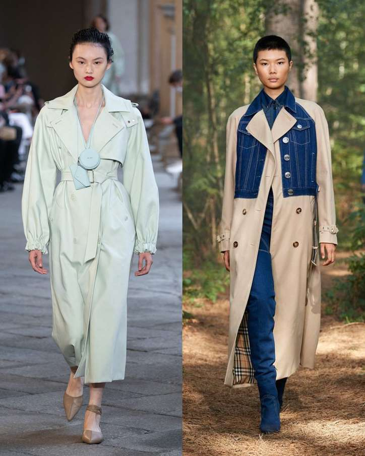 Fashionable raincoats and trench coats 2021: photos of trending models photo №11