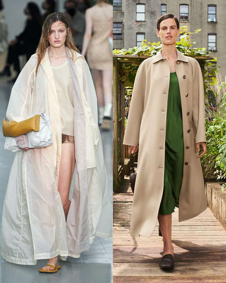 Fashionable raincoats and trench coats 2021: photos of trending models photo # 12