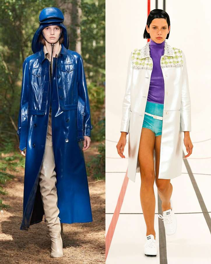 Fashionable raincoats and trench coats 2021: photos of trending models photo # 9