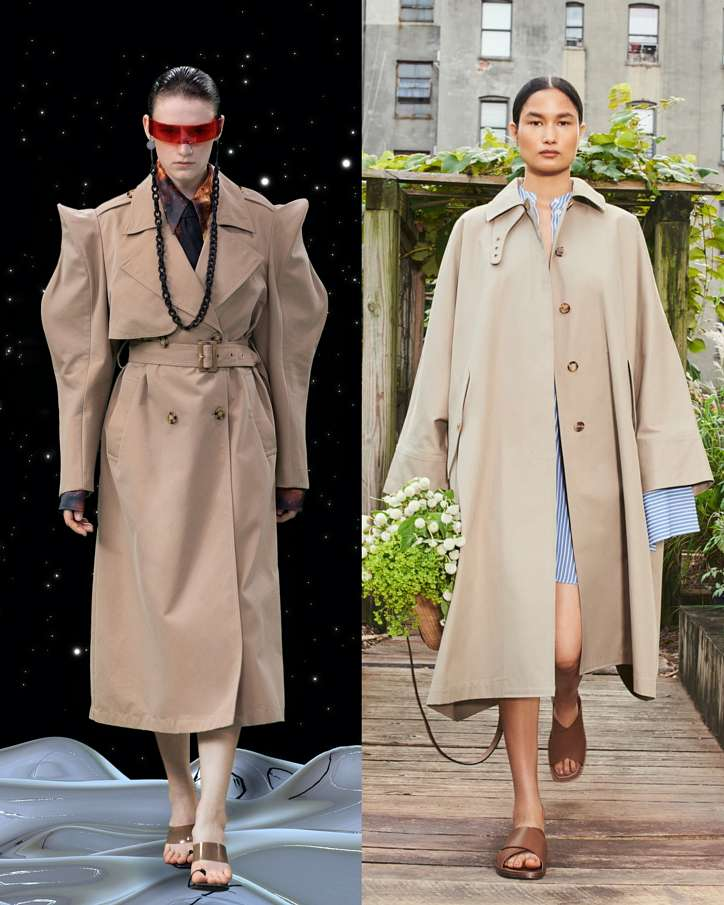 Fashionable raincoats and trench coats 2021: photos of trending models photo # 15