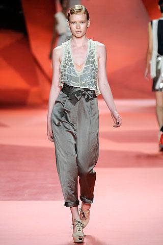 fashion silk trousers 2010