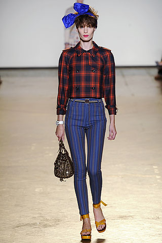striped skinny pants from Marc by Mars Jacobs