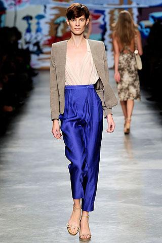 Bright Blue Pants by Stella McCartney
