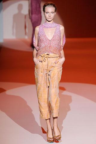 cropped trousers by Carolina Herrera