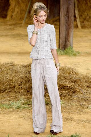 wide leg pants by Chanel
