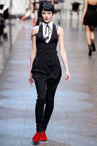 Breeches from Dolce & Gabbana spring-summer 2010