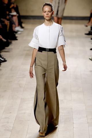 Celine wide leg trousers