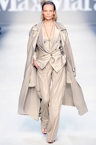 trouser suit from MaxMara spring-summer 2010
