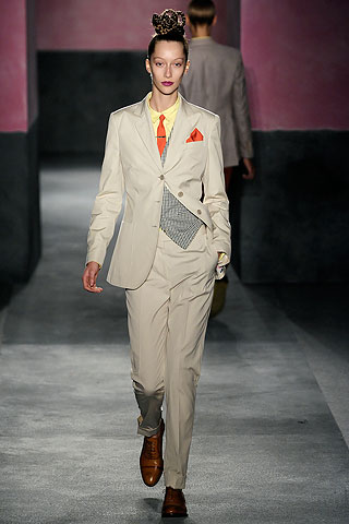 classic suit from Paul Smith spring / summer 2010