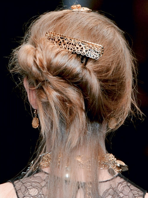 retro comb from Dolce and Gabbana