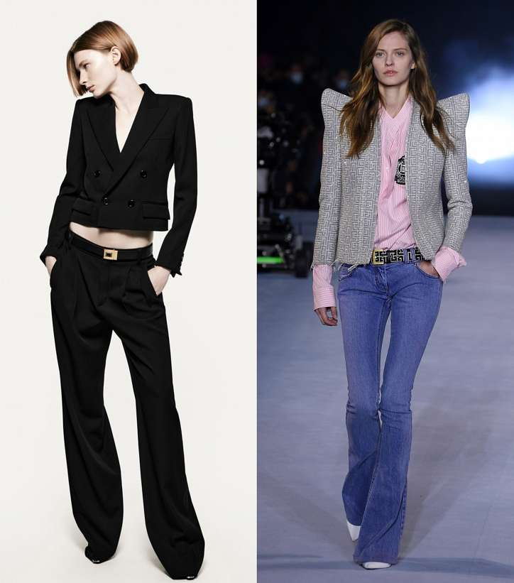 Cropped jacket - which are in fashion and what to wear with photo # 4