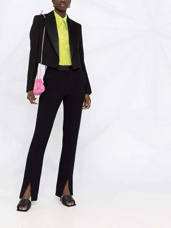 Cropped jacket - which are in fashion and what to wear with photo # 29