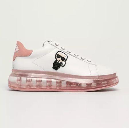 Karl Lagerfeld Pink Sole Sneakers