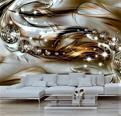 3D wallpaper for modern interior decoration