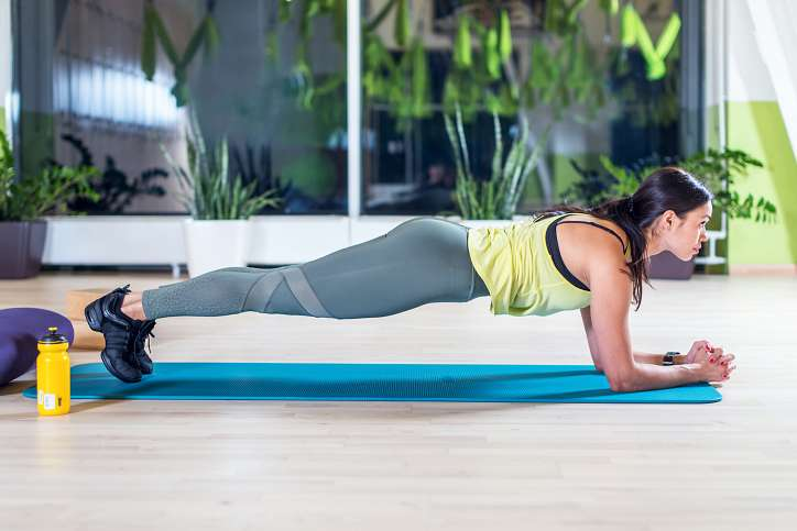 Slimming plank: how much and how to stand correctly photo number 1