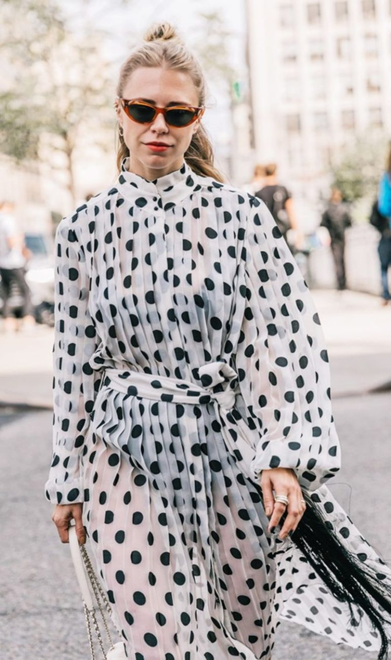 beautiful polka dot dresses
