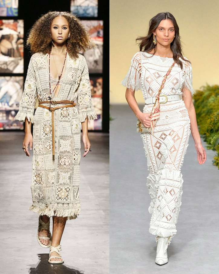 Fashionable dresses spring-summer 2021 photo # 2