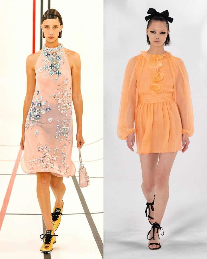 Fashionable dresses spring-summer 2021 photo # 7