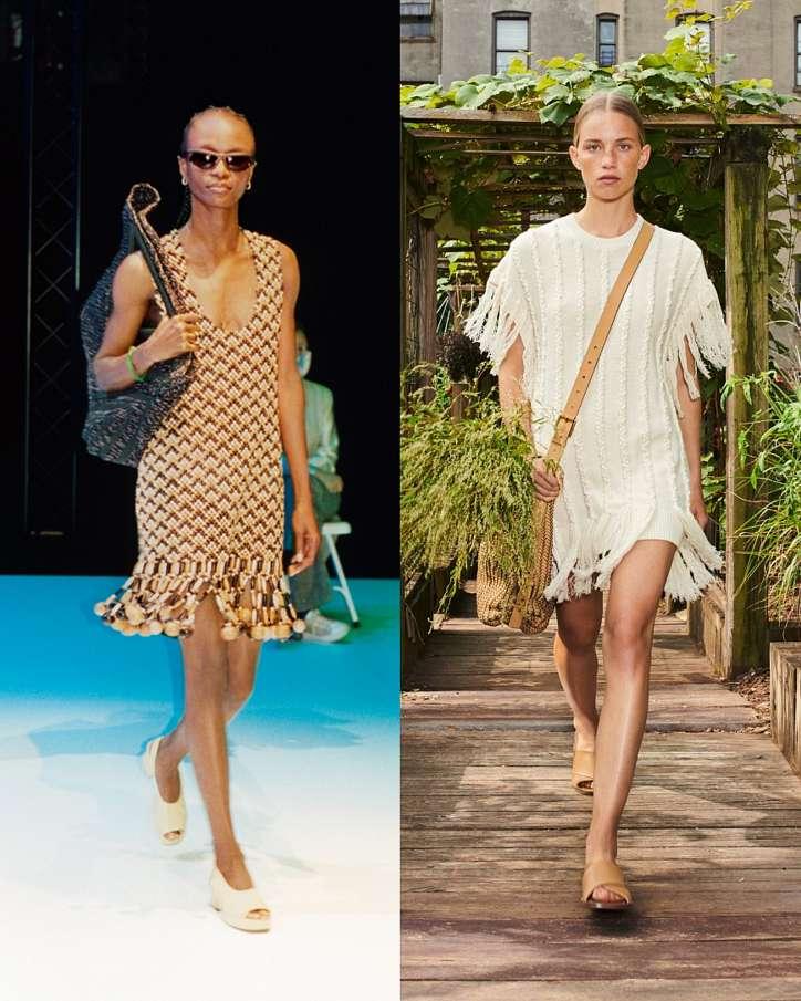 Fashionable dresses spring-summer 2021 photo # 14