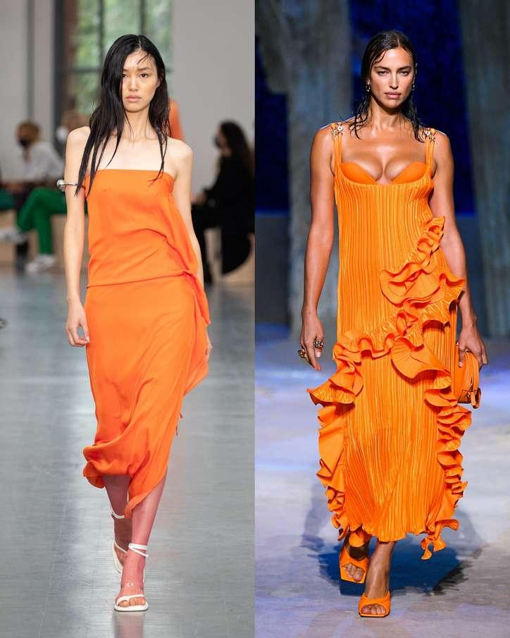 Fashionable dresses spring-summer 2021 photo # 8