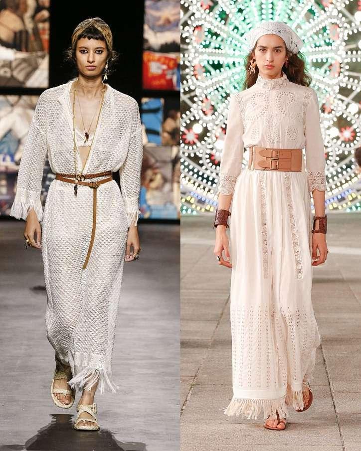 Fashionable dresses spring-summer 2021 photo # 13