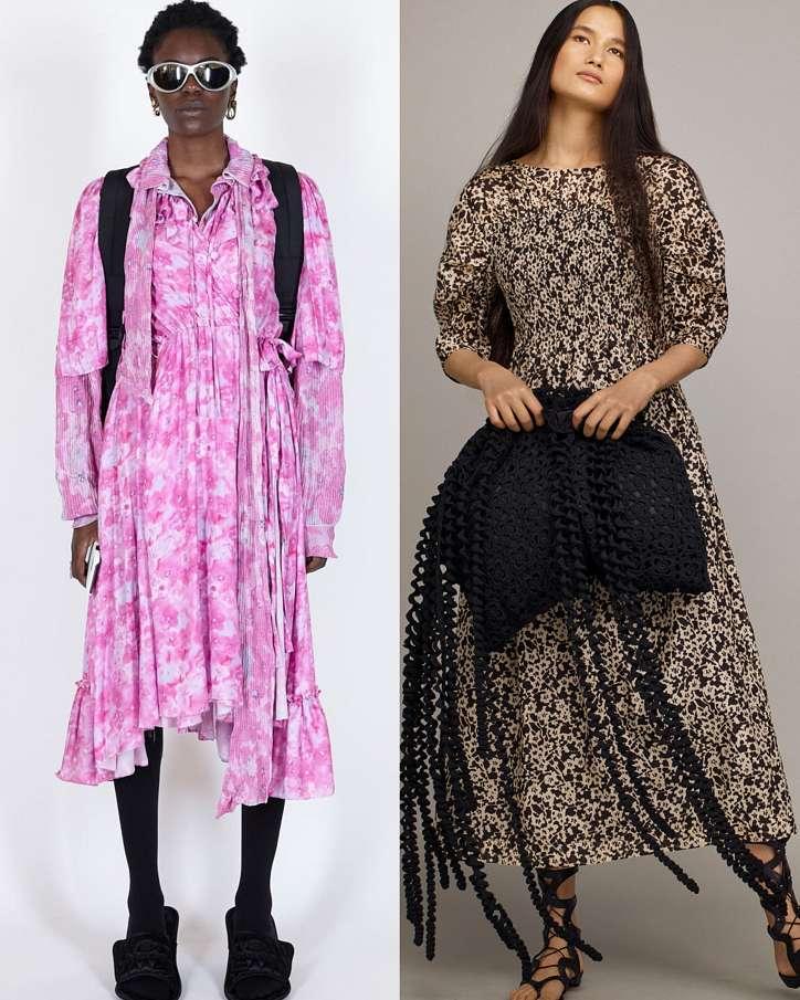 Fashionable dresses spring-summer 2021 photo # 27