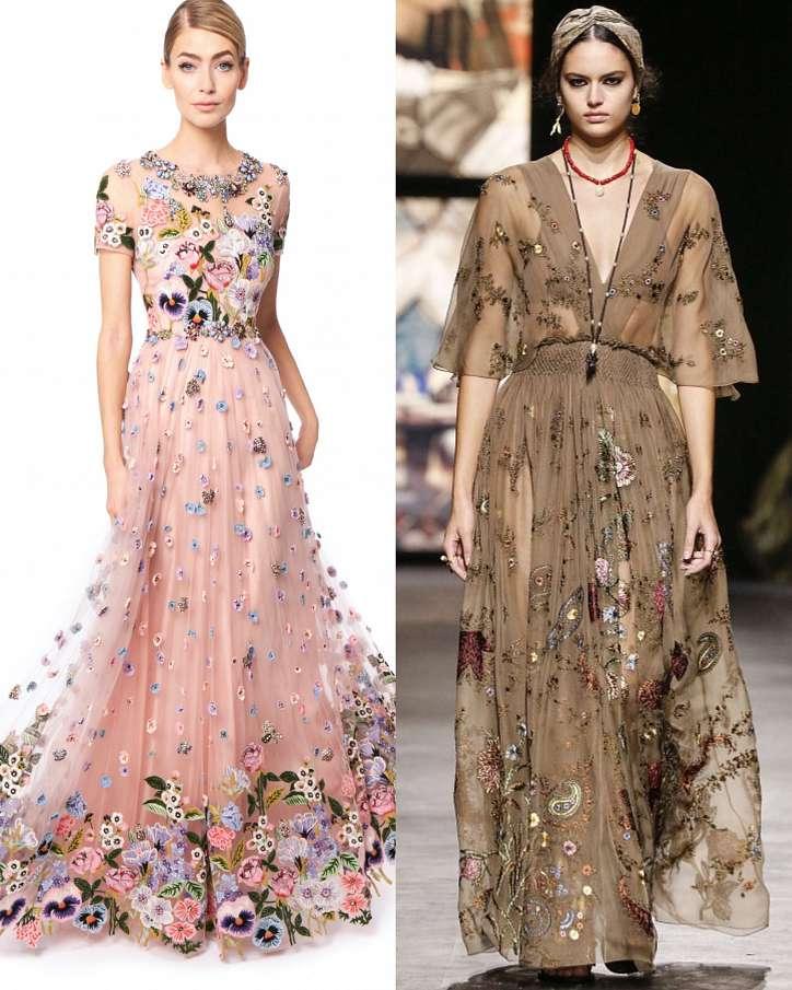 Fashionable dresses spring-summer 2021 photo # 25