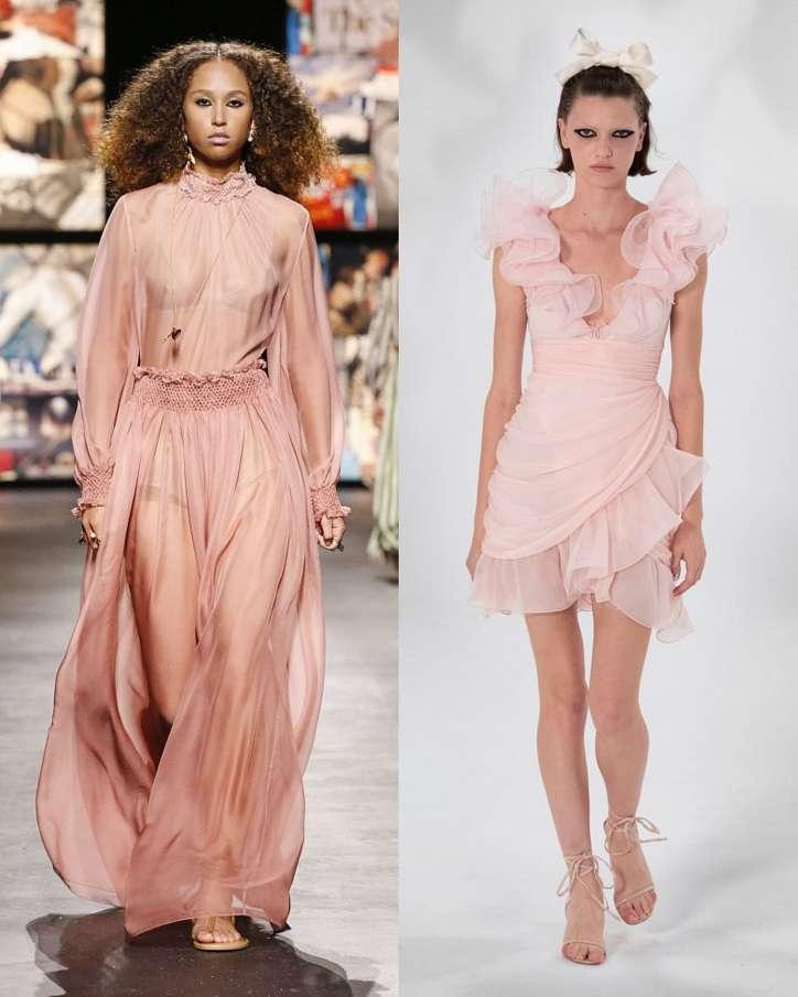 Fashionable dresses spring-summer 2021 photo # 28