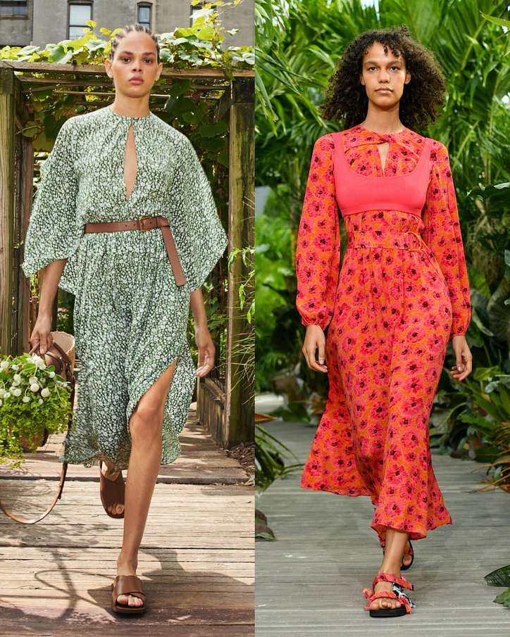 Fashionable dresses spring-summer 2021 photo # 24