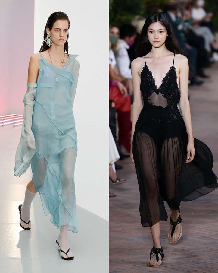 Fashionable dresses spring-summer 2021 photo # 32