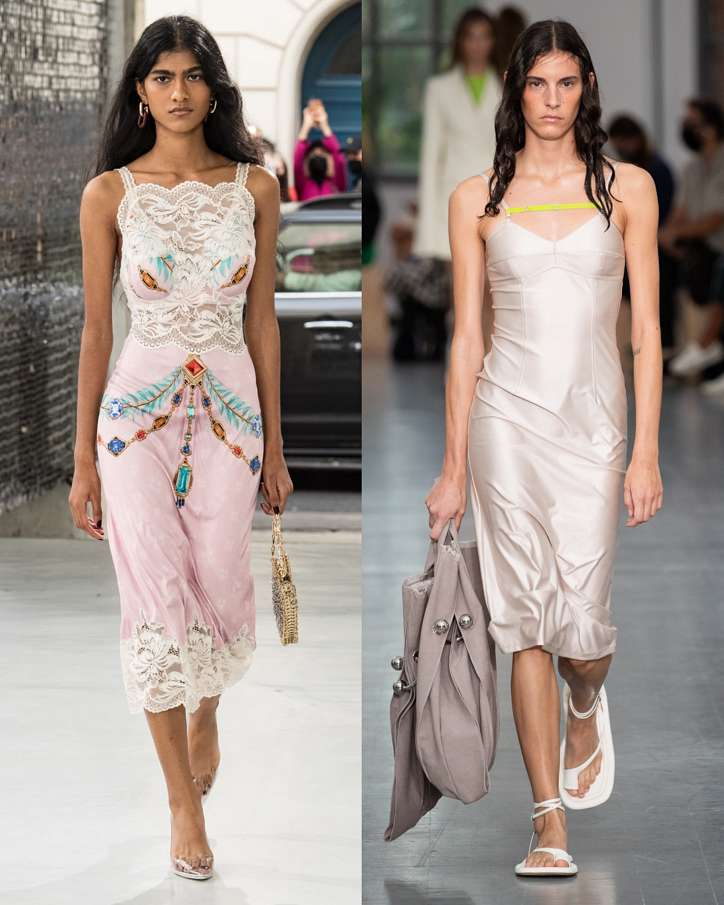 Fashionable dresses spring-summer 2021 photo # 31