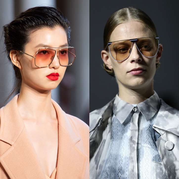 Fashionable sunglasses 2021: trends and novelties photo # 3