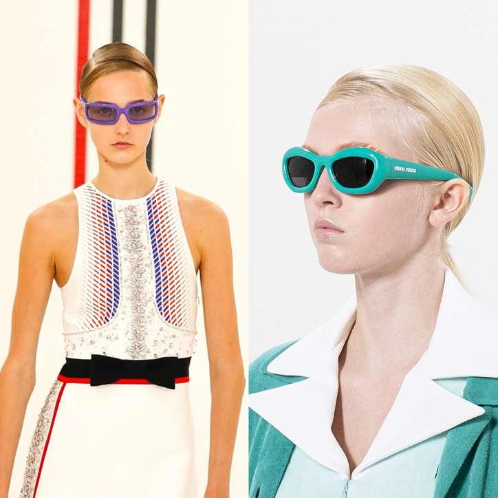 Fashionable sunglasses 2021: trends and novelties photo # 9