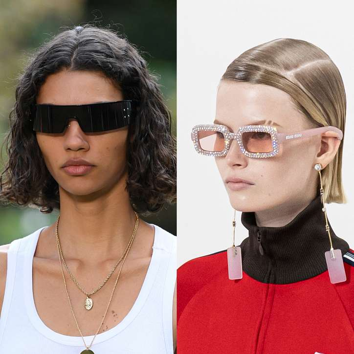 Fashionable sunglasses 2021: trends and novelties photo # 6
