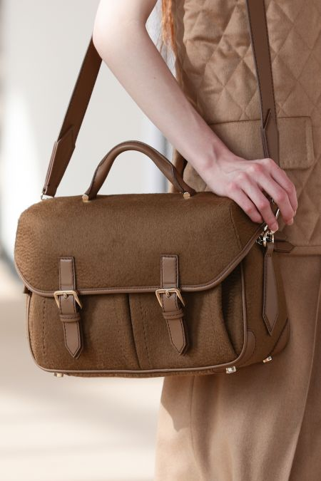 Messenger bag from the Max Mara fall-winter 2021 collection