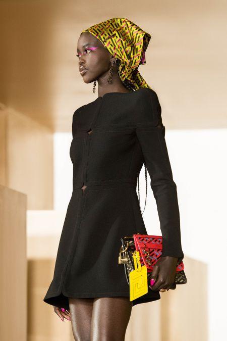 Versace Luxurious Satin Shawl