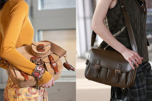 Messenger bag is a trend for fall-winter 2021