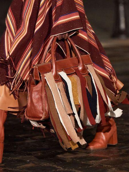 Chloé Wide Racco Fringe Bag