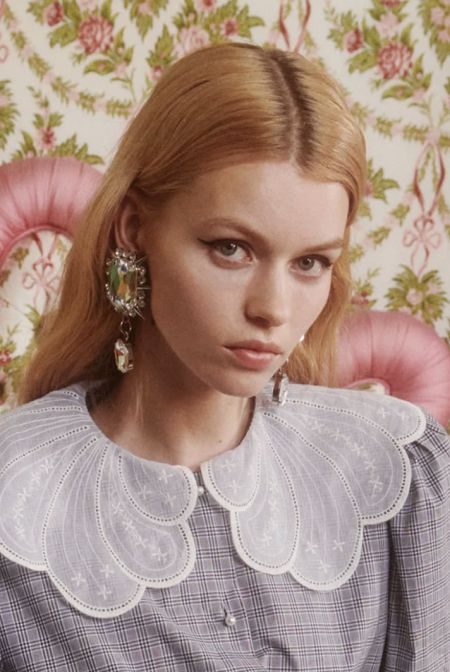 Earrings with massive stones trend fall 2021