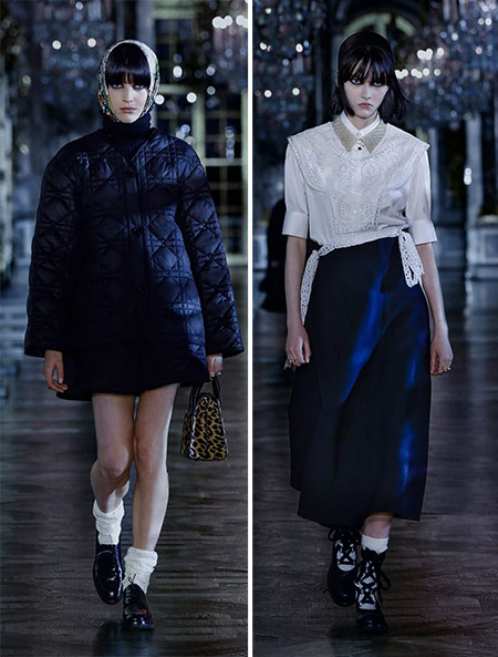 Socks in the fall-winter collection of Christian Dior