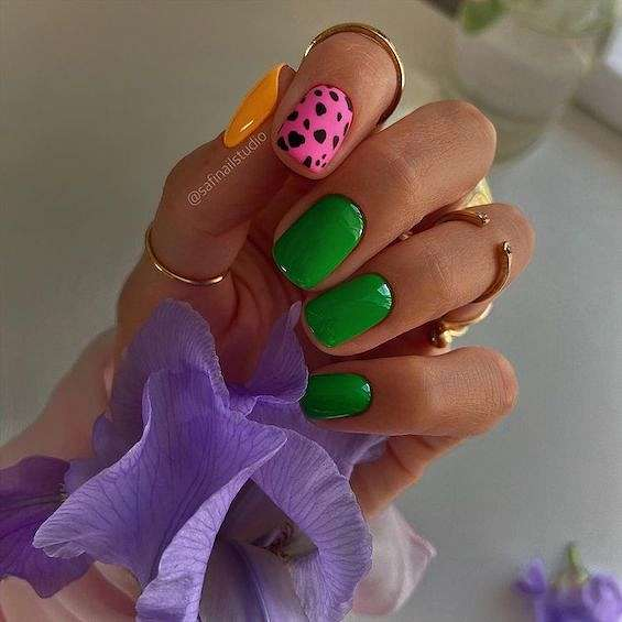 50 ideas for fashionable summer manicure photo # 2