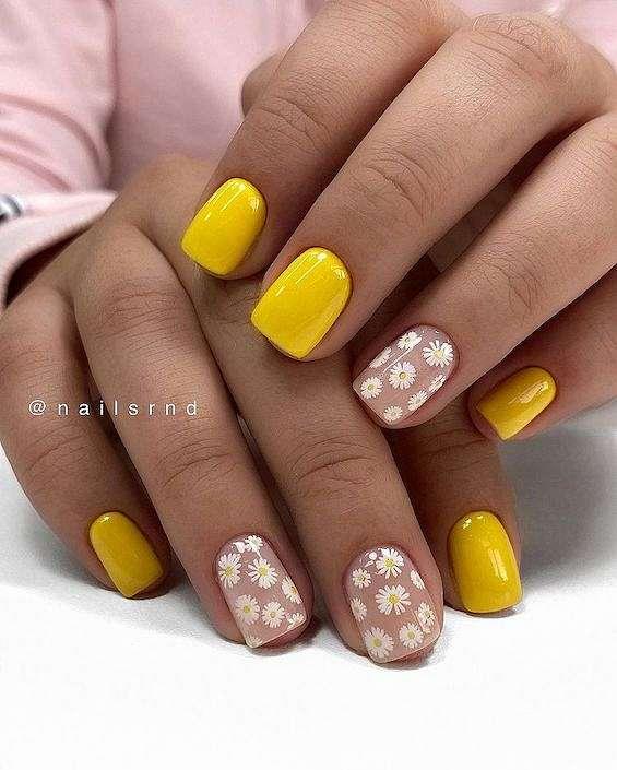 50 ideas of fashionable summer manicure photo # 3