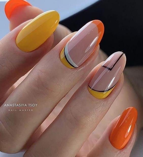50 ideas of fashionable summer manicure photo # 9