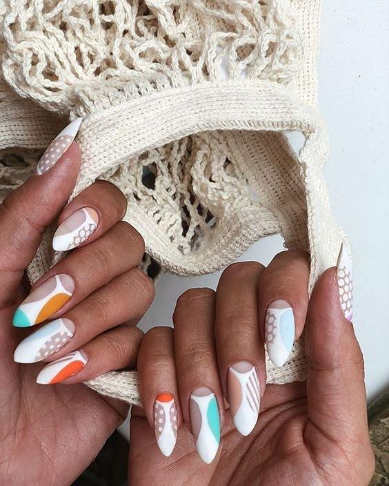50 ideas of fashionable summer manicure photo # 8