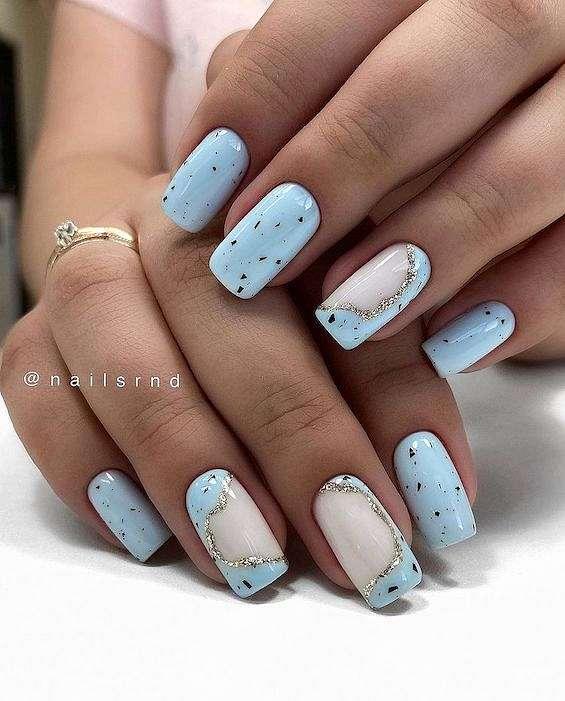 50 ideas of fashionable summer manicure photo # 7