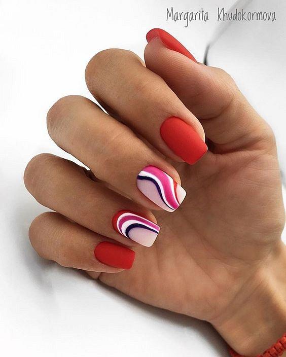 50 ideas of fashionable summer manicure photo # 11