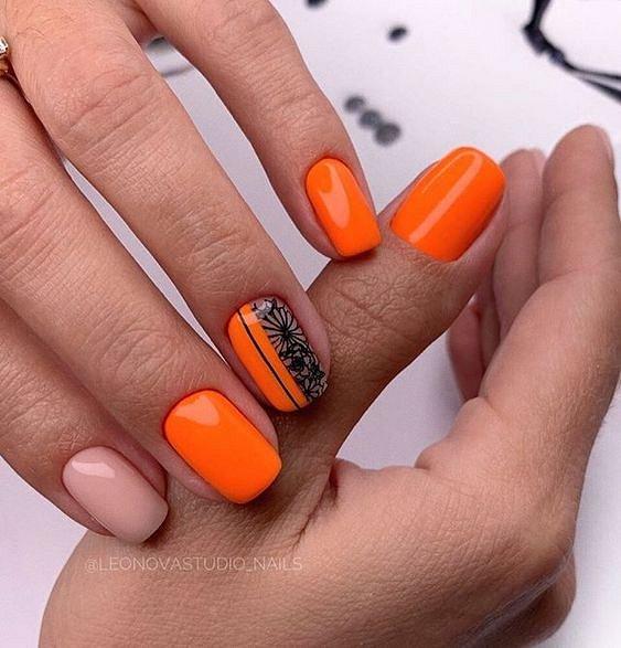 50 ideas of fashionable summer manicure photo # 10