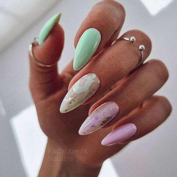 50 ideas of fashionable summer manicure photo # 6