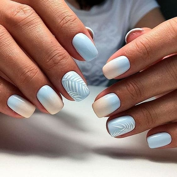 50 ideas for fashionable summer manicure photo # 17
